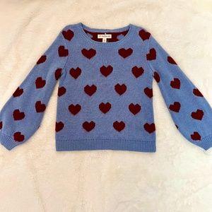 Tucker + Tate Sweater Heart Play NWOT